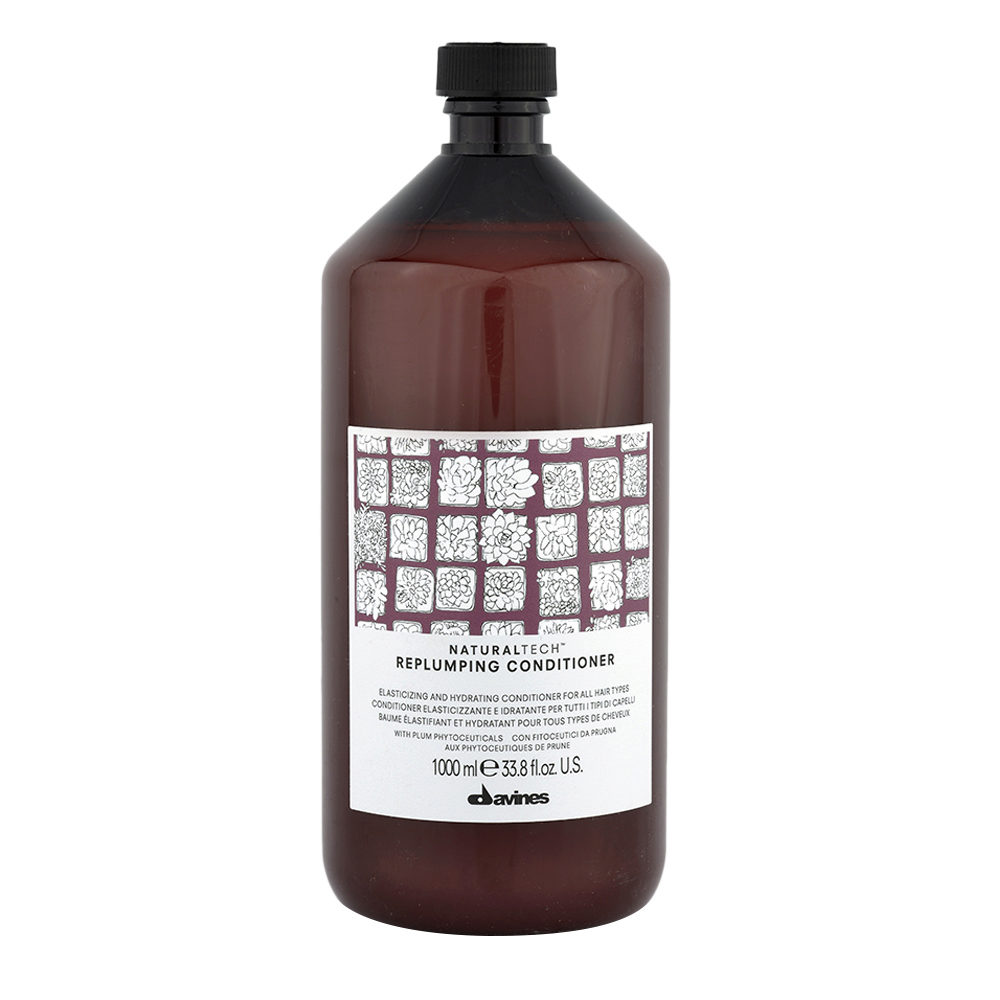 Davines Naturaltech Replumping Conditioner 1000ml - Conditionneur élastifiant