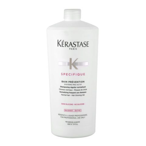 Kerastase Specifique Bain Prevention 1000ml - Shampooing anti - chute