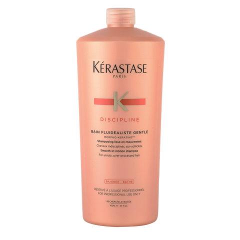 Kerastase Discipline Bain Fluidealiste Gentle 1000ml - Shampooing doux Antifrisottis