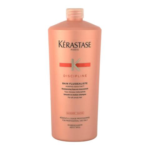 Kerastase Discipline Bain Fluidealiste 1000ml - Shampooing Antifrisottis