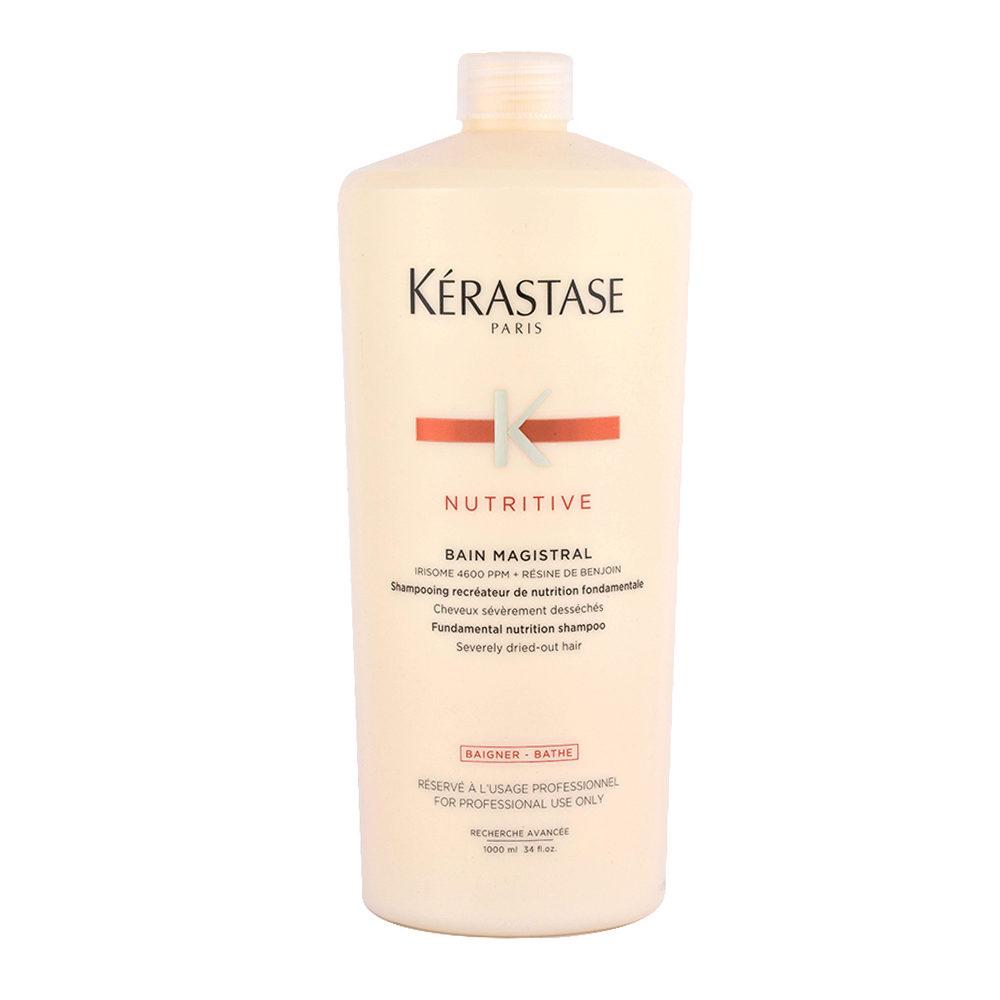 Kerastase Nutritive Bain Magistral 1000ml - Shampooing pour cheveux très secs