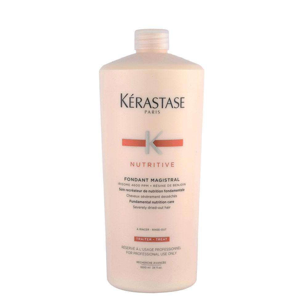 Kerastase Nutritive Fondant Magistral 1000ml - Après - Shampooing pour les cheveux très sec