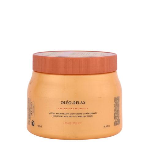 Kerastase Nutritive Masque Oleo Relax 500ml - masque anti-frisottis pour cheveux secs