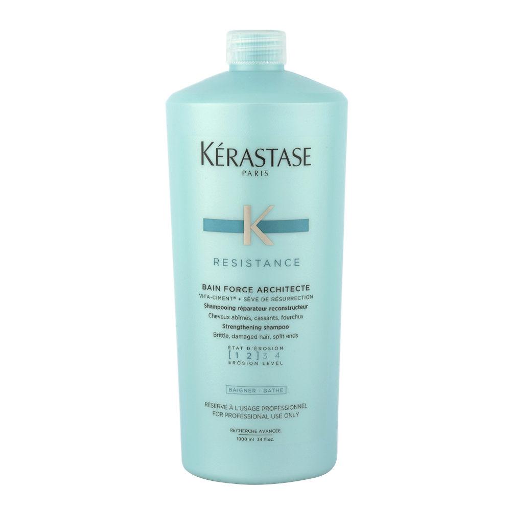 Kerastase Résistance Bain Force Architecte 1000ml - shampooing restructurant