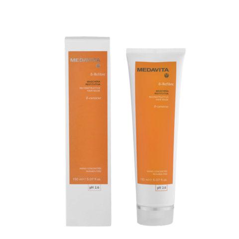 Medavita Lenghts ß-Refibre Reconstructive hair mask pH 2.6  150ml Masque restaurateur reconstructeur