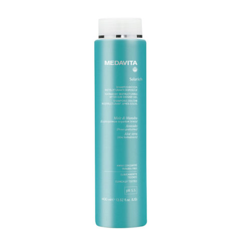 Medavita Lunghezze Solarich Hair&Body Refreshing Aftersun Shower Gel 400ml - Shampooing douche après-soleil