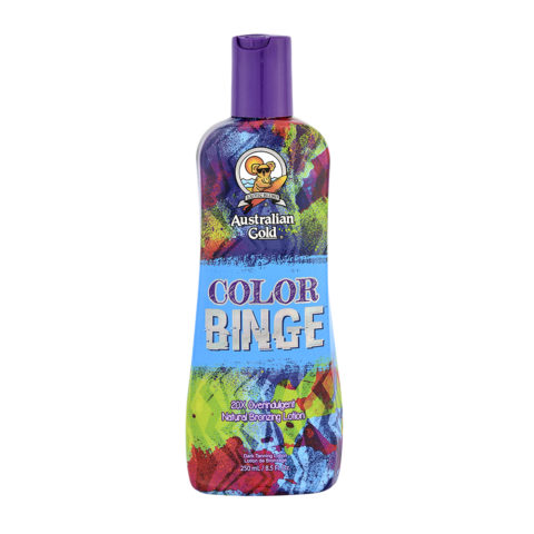 Australian Gold Good Line Color Binge Intensificateur aux agents bronzants naturels 250ml