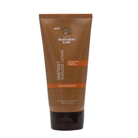 Australian Gold Self Tanner Instant Sunless Lotion 177ml - Autobronzant