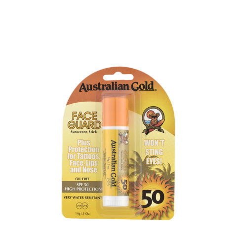 Australian Gold Protection en Stick  SPF50 Face Guard 14gr