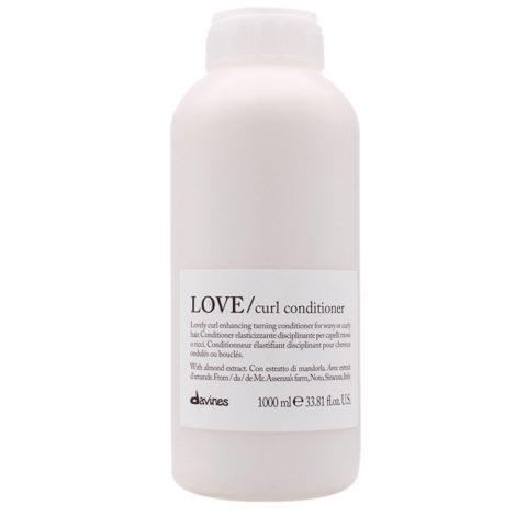 Davines Essential hair care Love curl Conditioner 1000ml - Conditionneur disciplinant