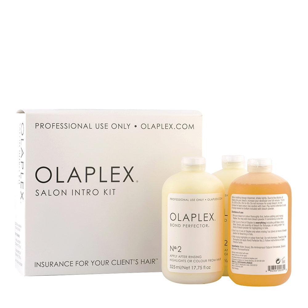 Olaplex salon intro kit n 1 525ml 2x n 2 525ml for Olaplex salon