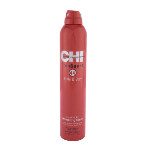 CHI 44 Iron Guard Style & Stay Firm Hold Protecting Spray 284gr - spray protecteur