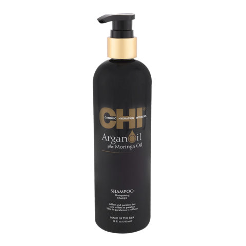 CHI Argan Oil plus Moringa Oil Shampoo 355ml - shampooing de nutrition