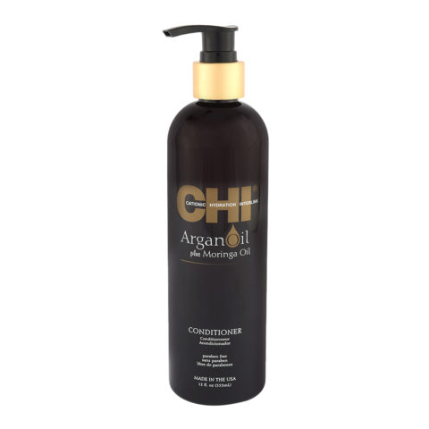 CHI Argan Oil plus Moringa Oil Conditioner 355ml - conditionneur de nutrition