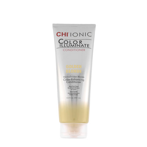 CHI Ionic Color Illuminate Conditioner Golden Blonde 251ml - blond doré conditionneur
