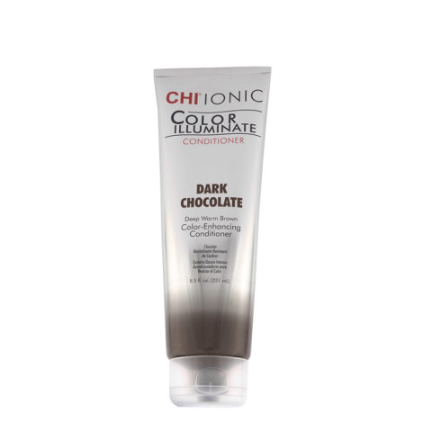 CHI Ionic Color Illuminate Conditioner Dark Chocolate 251ml - chocolat conditionneur