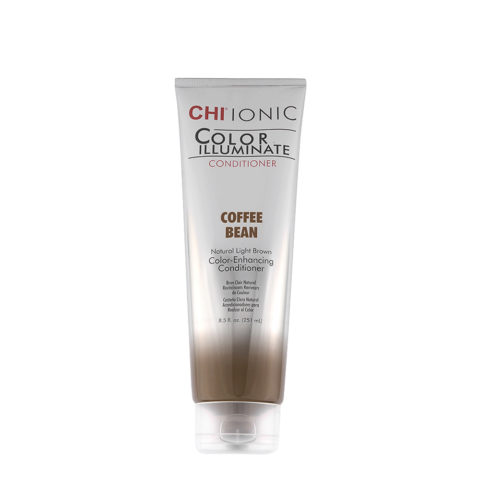 CHI Ionic Color Illuminate Conditioner Coffee Bean 251ml - brun clair naturel après-shampooing