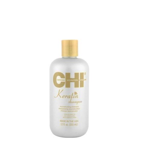 CHI Keratin Shampoo 355ml - Shampooing Reconstructeur