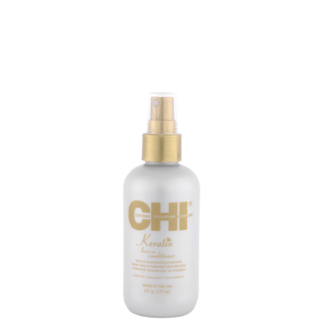 CHI Keratin Leave In Conditioner 177ml - Traitement de Reconstruction sans rinçage