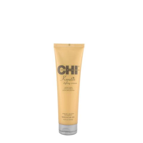 CHI Keratin Styling Cream 133ml - crème coiffante conditionnant et légère