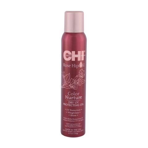 CHI Rose Hip Oil Dry UV Protecting Oil 150gr - huile sèche protectrice UV