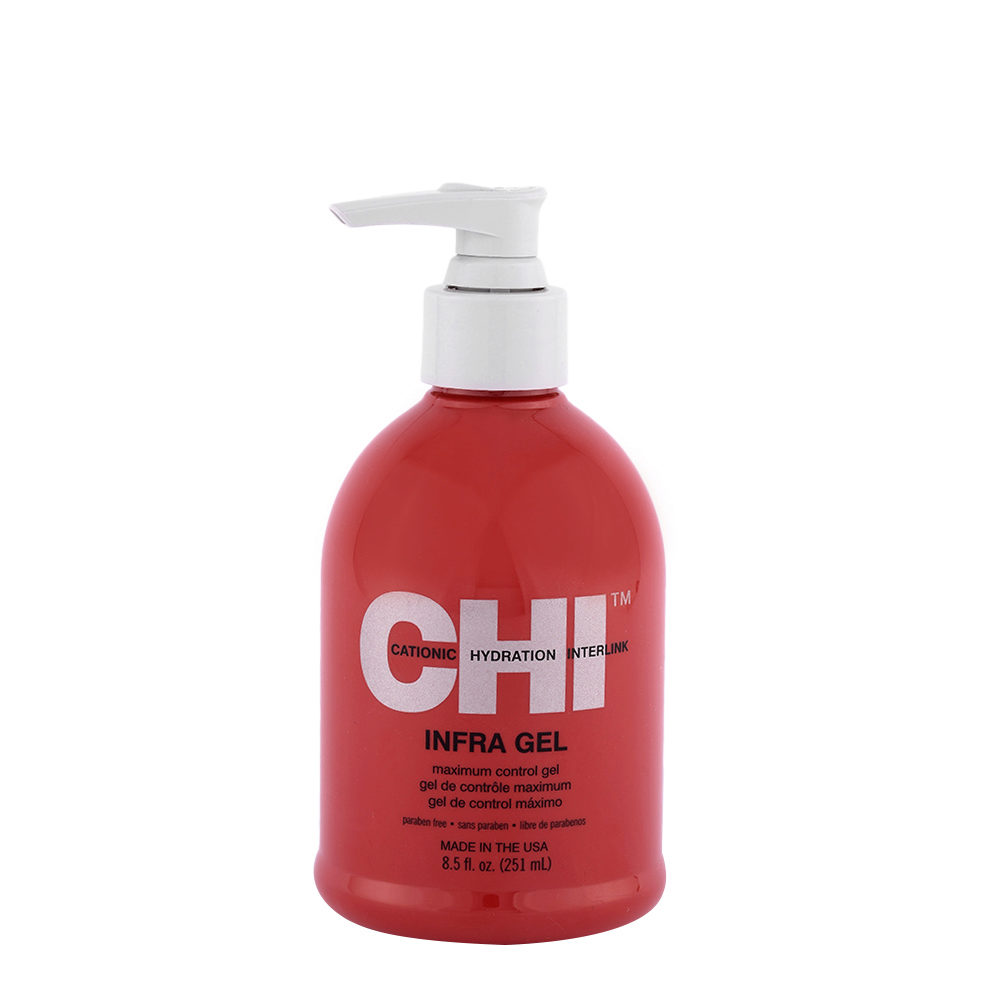 CHI Styling and Finish Infra Gel 251ml - gel de contrôle maximum