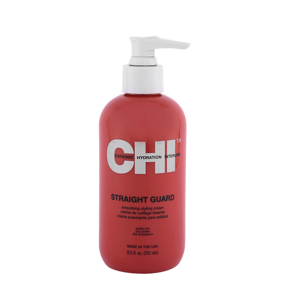 CHI Styling and Finish Straight Guard Smoothing Styling Cream 251ml - crème de coiffage lissante