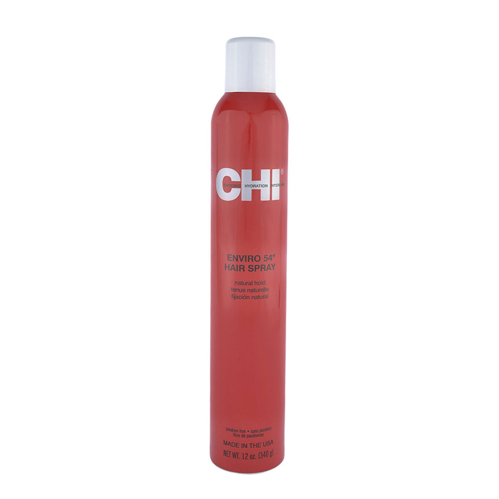 CHI Styling and Finish Enviro Natural Hold Hairspray 340gr - tenue naturelle