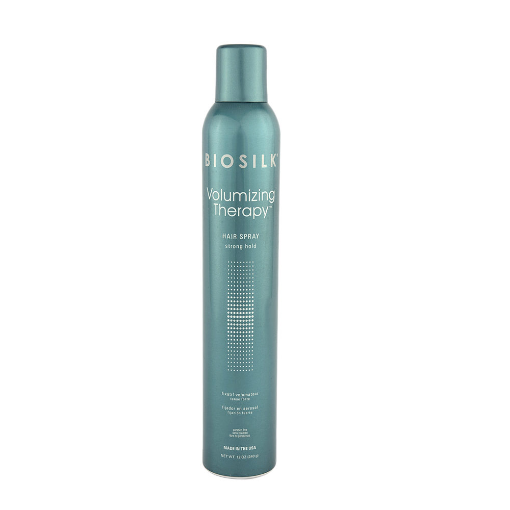 Biosilk Volumizing Therapy Hairspray 340gr - fixatif volumateur tenue forte