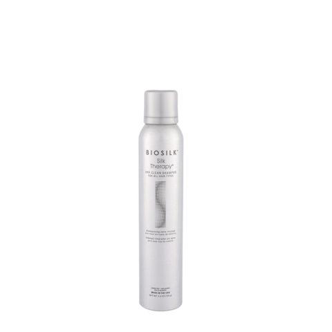 Biosilk Silk Therapy Dry Clean Shampoo 150gr -  shampooing sans rinçage pour tous les types de cheveux