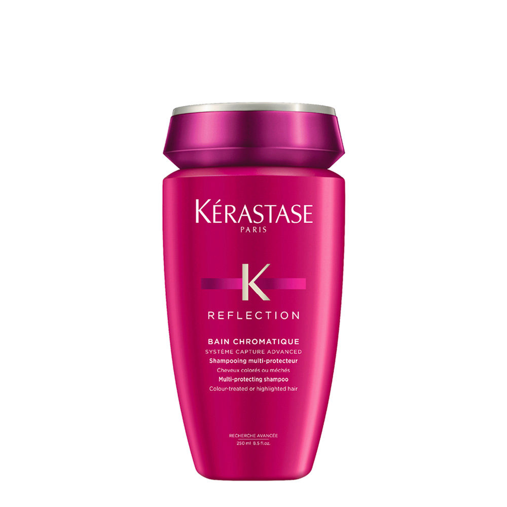Kerastase New Réflection Bain Chromatique 250ml - shampooing cheveux fins et colorés