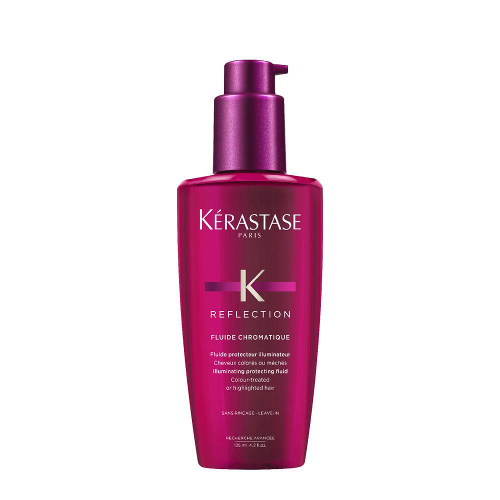 Kerastase Reflection Fluide Chromatique 125ml - Soin adoucissant pour l'éclat des cheveux colorés