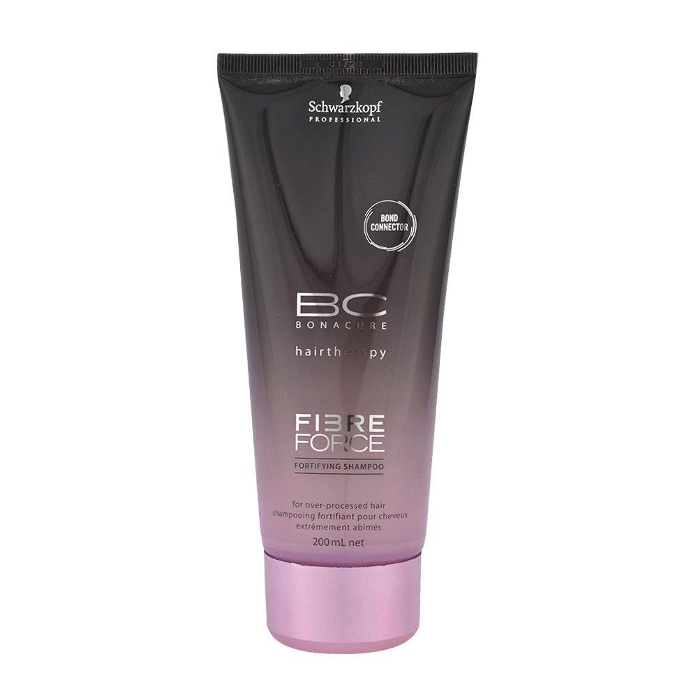 Schwarzkopf BC Bonacure Fibre Force Shampoo 200ml - shampooing Réparateur