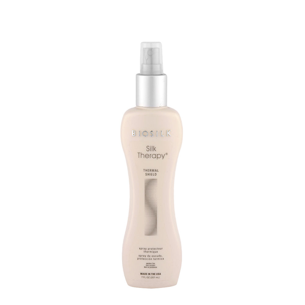 Biosilk Silk Therapy Styling Thermal Shield 207ml - spray protecteur thermique