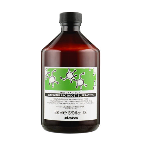 Davines Naturaltech Renewing Pro Boost Superactive 500ml - Fluide exfoliant