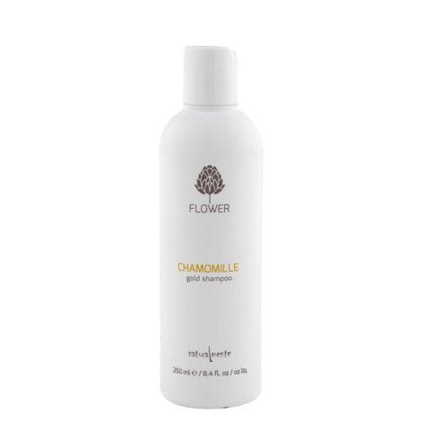 Naturalmente Flower Shampoo Chamomile 250ml - shampooing à la camomille
