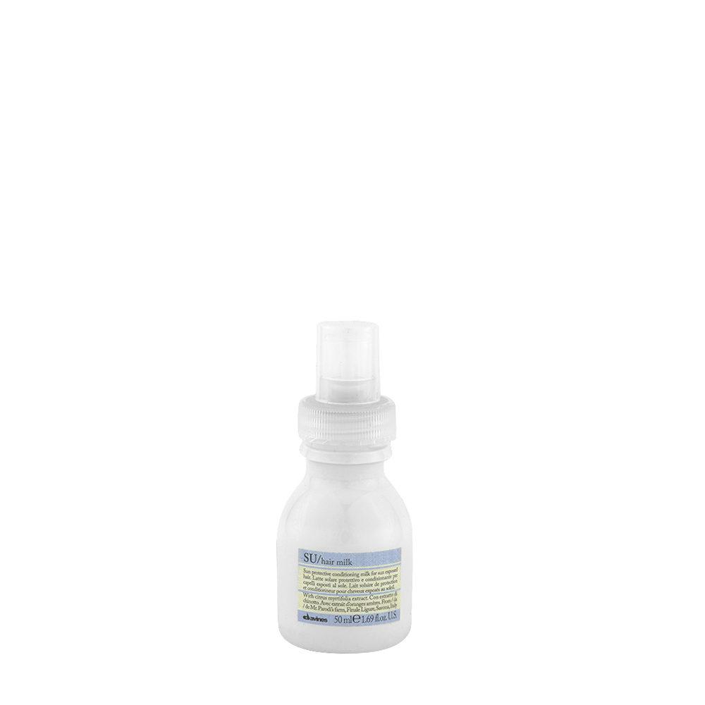 Davines SU Milk 50ml - Lait solaire protecteur