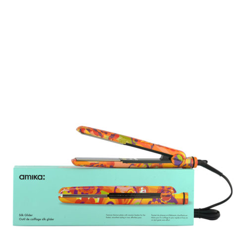 amika: Lisseur Digital Titanium Styler Obliphica Silk Glider - fer à lisser profesionnel