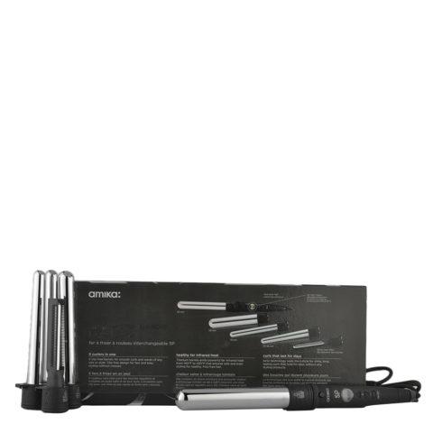 amika: Fers à lisser 5p Titanium curler set