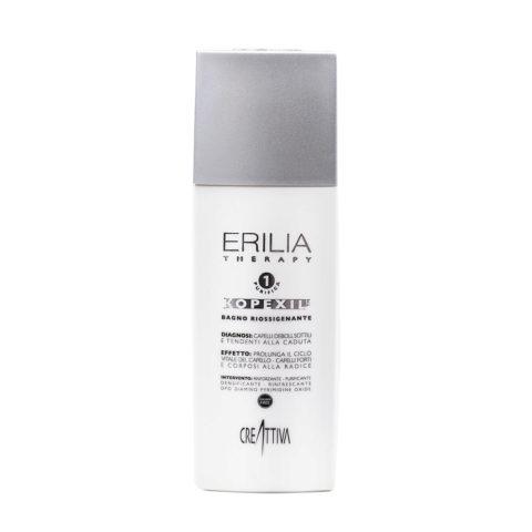 Erilia Kopexil Bagno Riossigenante 250ml - shampooing cheveux faibles et fins
