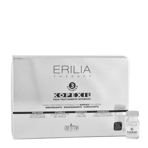 Erilia Kopexil Traitement Intensif fortifiant pour cheveux faibles 10x8ml