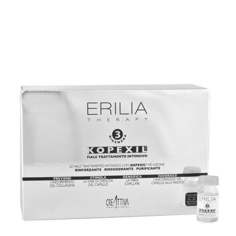 Erilia Kopexil Traitement Intensif fortifiant pour cheveux faibles 20x8ml