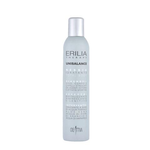 Erilia Unibalance Brouillard Hydratant Total Body 300ml - eau thermale visage, corps et cheveux