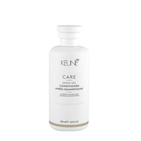 Keune Care line Satin oil Conditioner 250ml - après shampooing illumine les cheveux ternes