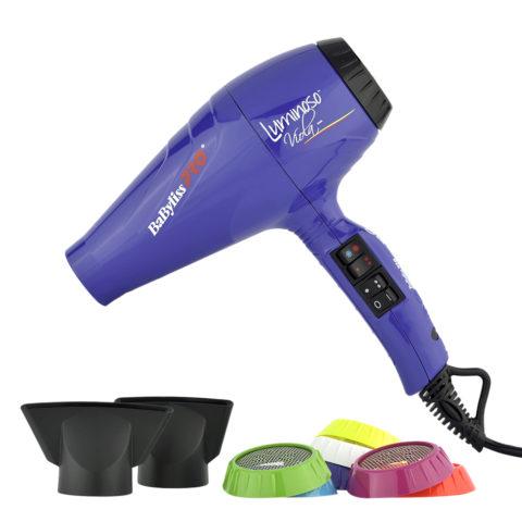Babyliss Pro Sèche-cheveux BAB6350IPE Luminoso Viola - Violet