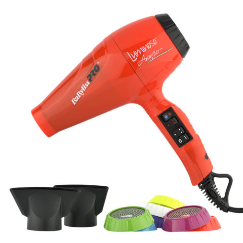 Babyliss Pro Sèche-cheveux BAB6350IOE Luminoso Arancio - Orange