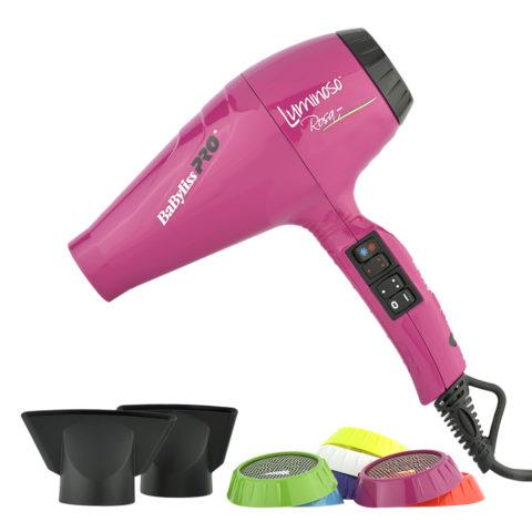 Babyliss Pro Sèche-cheveux BAB6350IFE Luminoso Rosa - Rose