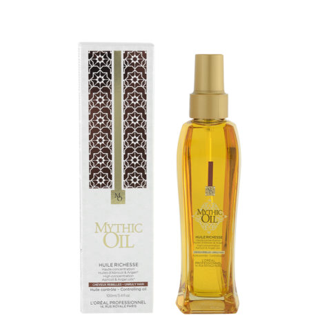 L'Oreal Mythic Oil Huile Richesse 100ml - cheveux rebelles