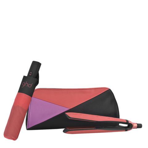 GHD Pink Blush Platinum Limited Ed. - lisseur platinum   Cadeau Parapluie GHD