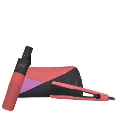 GHD Pink Blush V Classic Styler Limited Ed. - lisseur   Ombrello GHD omaggio